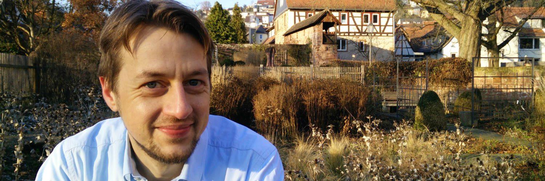 Psychologe Patrick Scheddel, Büdingen, Kölscher Garten